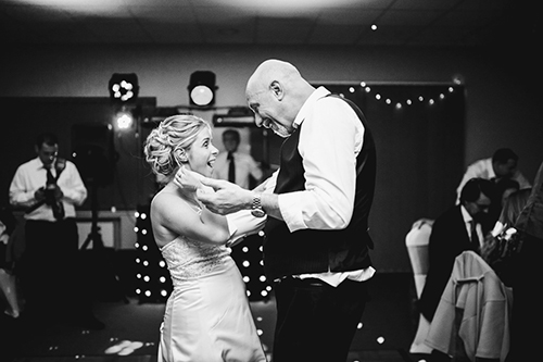 Would you go entirely Black and White for your wedding photography?
