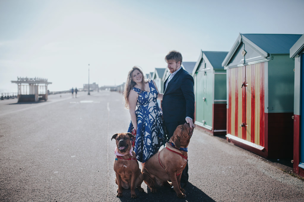 Sonia & Ben - Brighton & Beach Engagement Photography 10