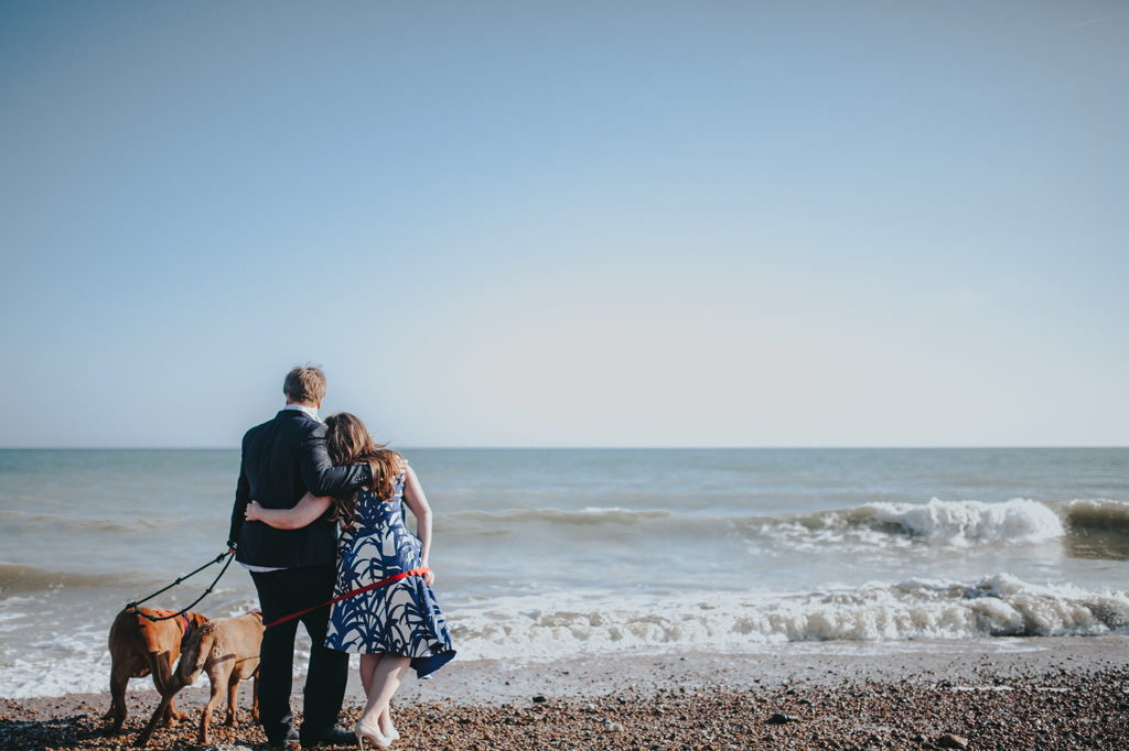 Sonia & Ben - Brighton & Beach Engagement Photography 12