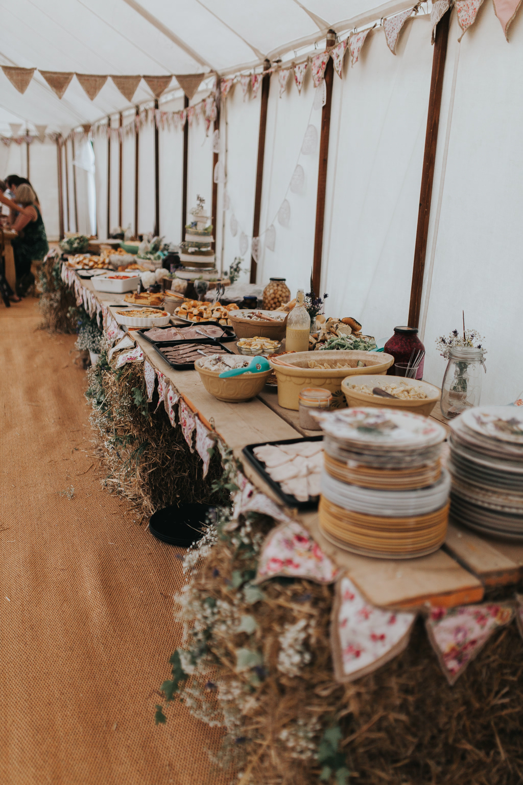 Emily and Phillip's Amazing Rustic DIY Tent Marquee Wedding in a Field in Colchester, Essex! 53