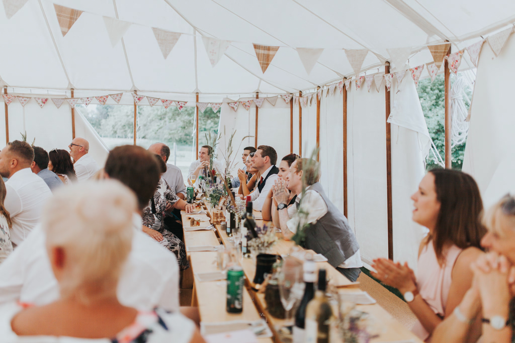 Emily and Phillip's Amazing Rustic DIY Tent Marquee Wedding in a Field in Colchester, Essex! 56