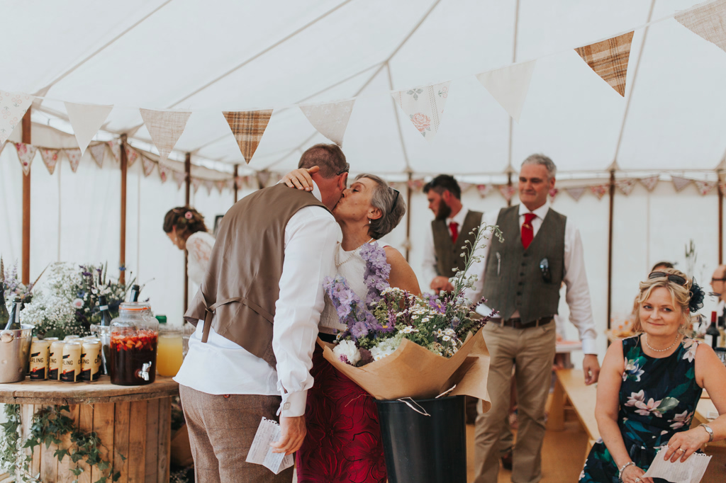 Emily and Phillip's Amazing Rustic DIY Tent Marquee Wedding in a Field in Colchester, Essex! 57