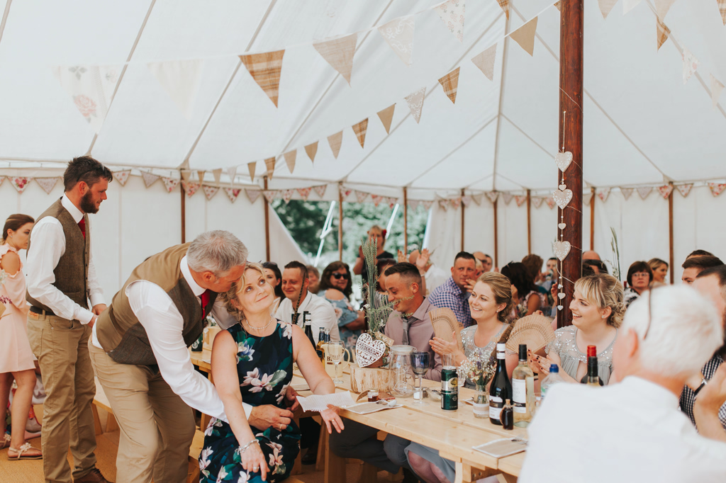 Emily and Phillip's Amazing Rustic DIY Tent Marquee Wedding in a Field in Colchester, Essex! 59