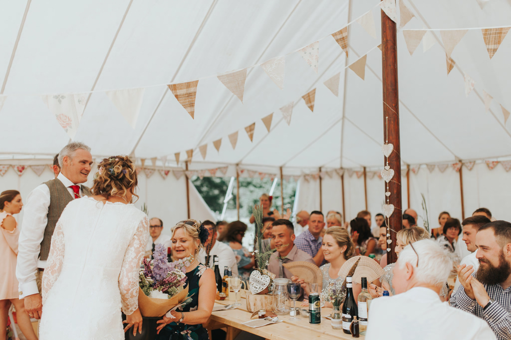Emily and Phillip's Amazing Rustic DIY Tent Marquee Wedding in a Field in Colchester, Essex! 60