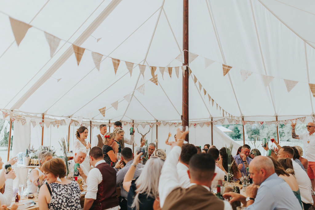 Emily and Phillip's Amazing Rustic DIY Tent Marquee Wedding in a Field in Colchester, Essex! 61