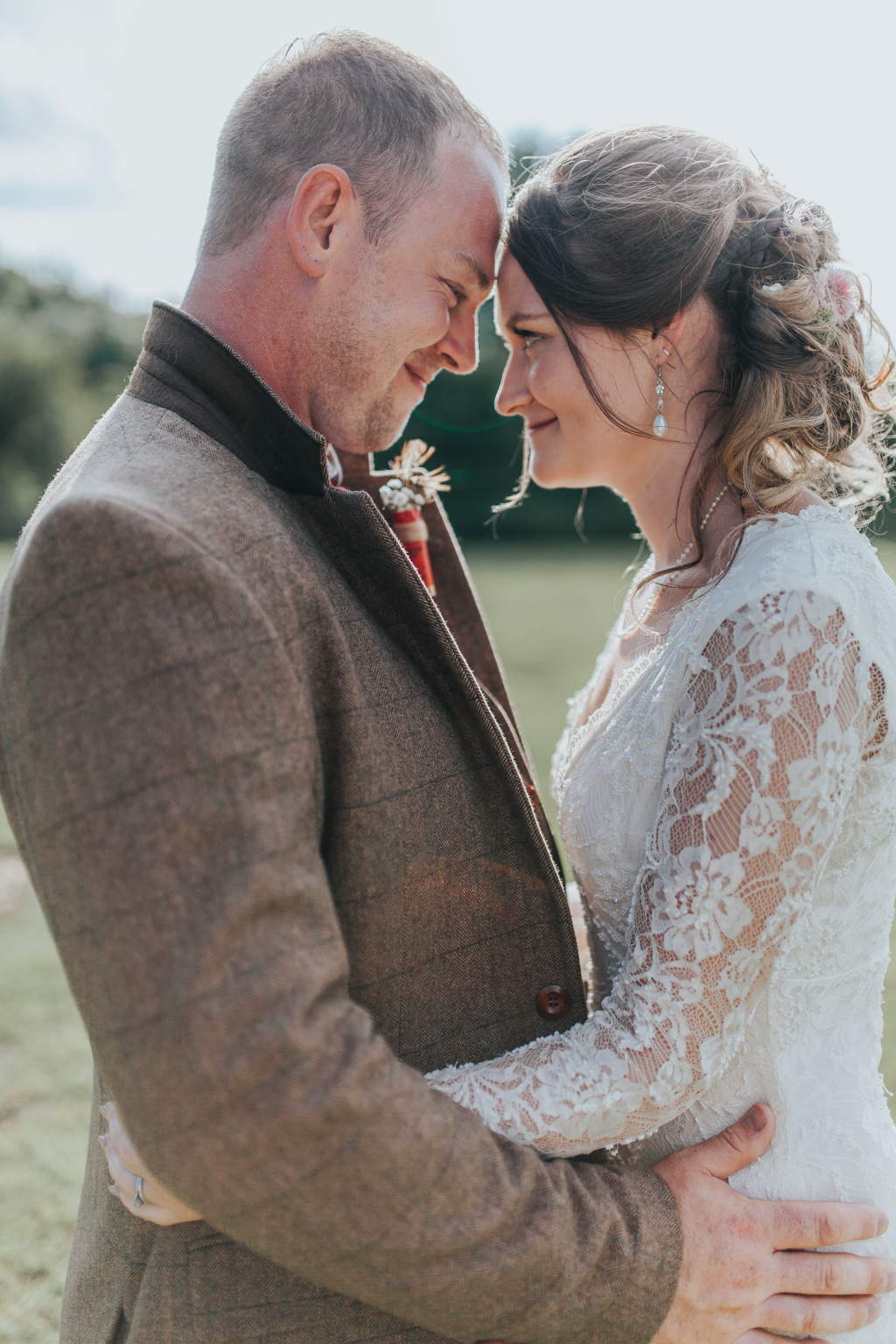 Emily and Phillip's Amazing Rustic DIY Tent Marquee Wedding in a Field in Colchester, Essex! 73