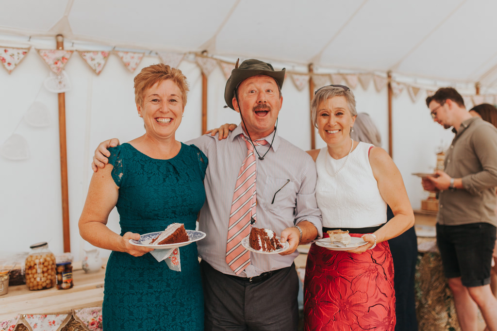 Emily and Phillip's Amazing Rustic DIY Tent Marquee Wedding in a Field in Colchester, Essex! 75