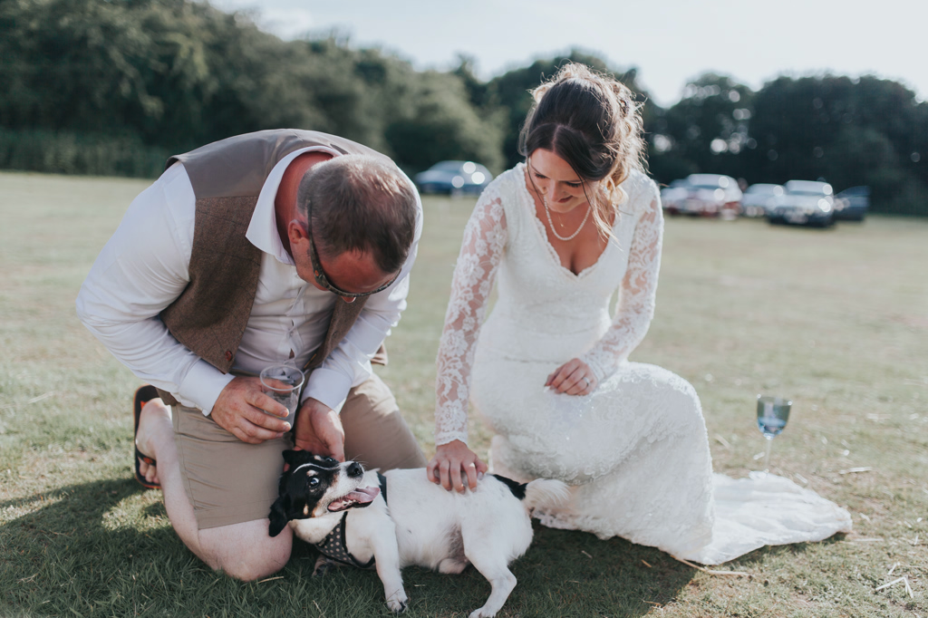 Emily and Phillip's Amazing Rustic DIY Tent Marquee Wedding in a Field in Colchester, Essex! 78