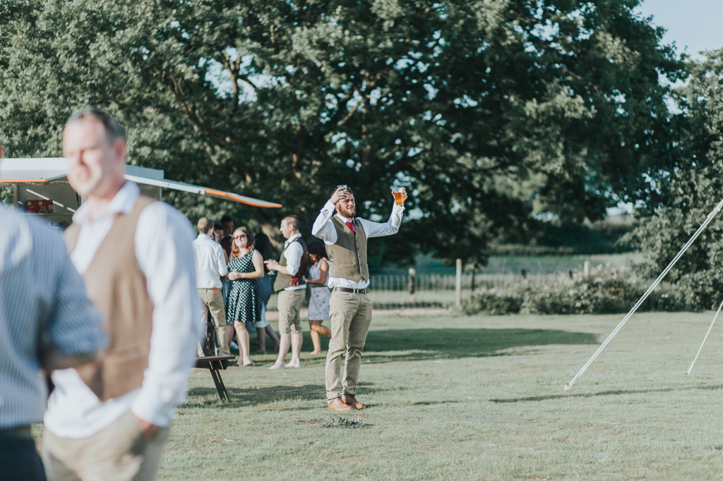 Emily and Phillip's Amazing Rustic DIY Tent Marquee Wedding in a Field in Colchester, Essex! 87