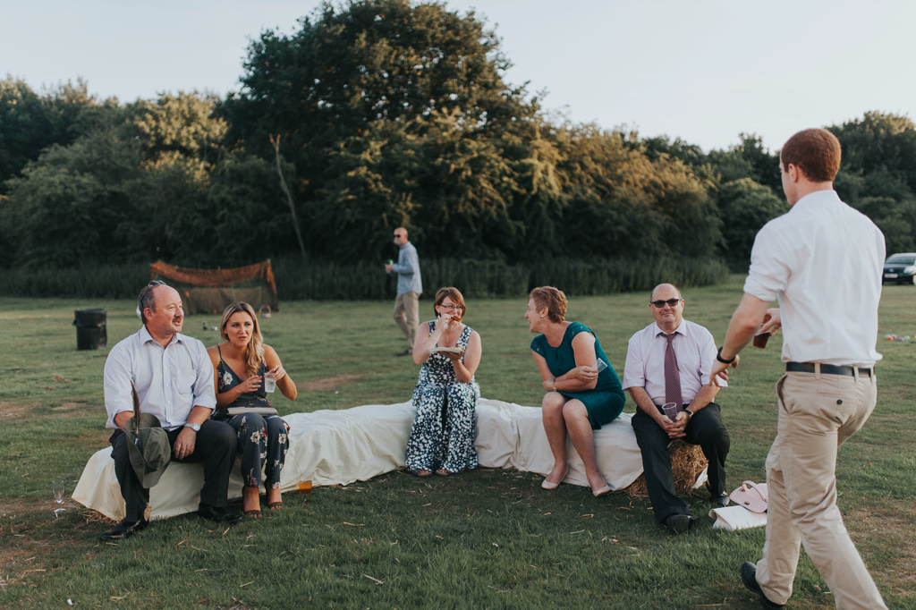 Emily and Phillip's Amazing Rustic DIY Tent Marquee Wedding in a Field in Colchester, Essex! 118