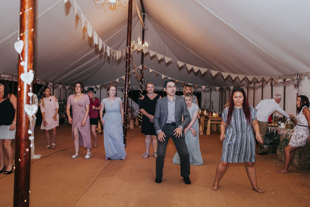 Emily and Phillip's Amazing Rustic DIY Tent Marquee Wedding in a Field in Colchester, Essex! 153