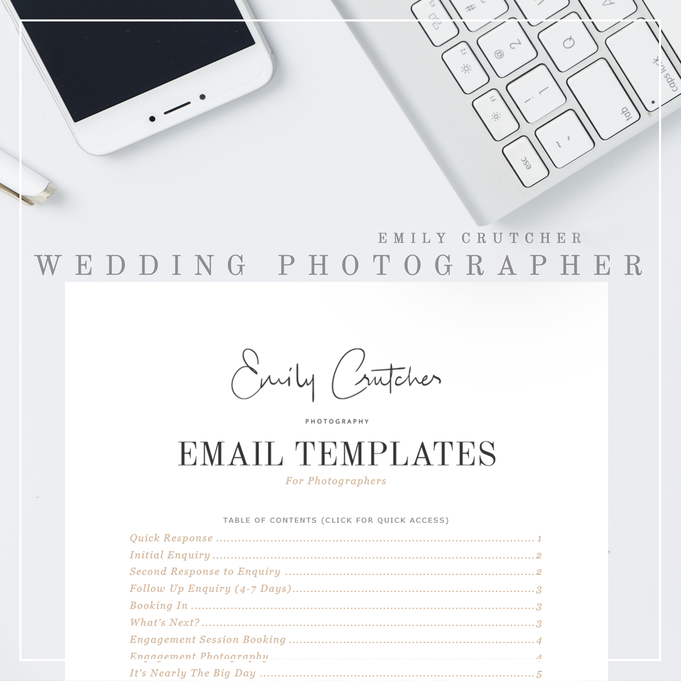WeddingPhotographerEmailTemplates