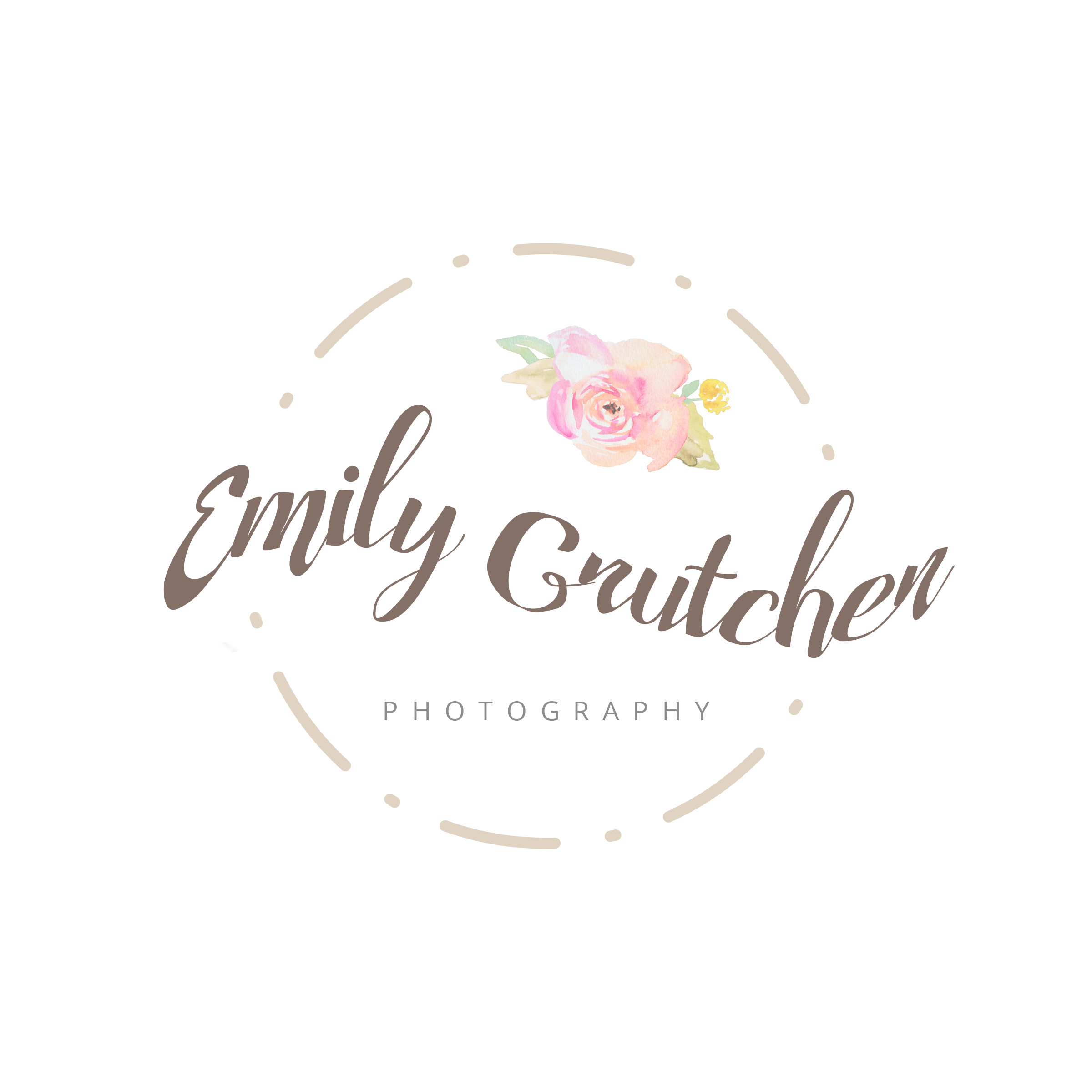 premade photography logo design