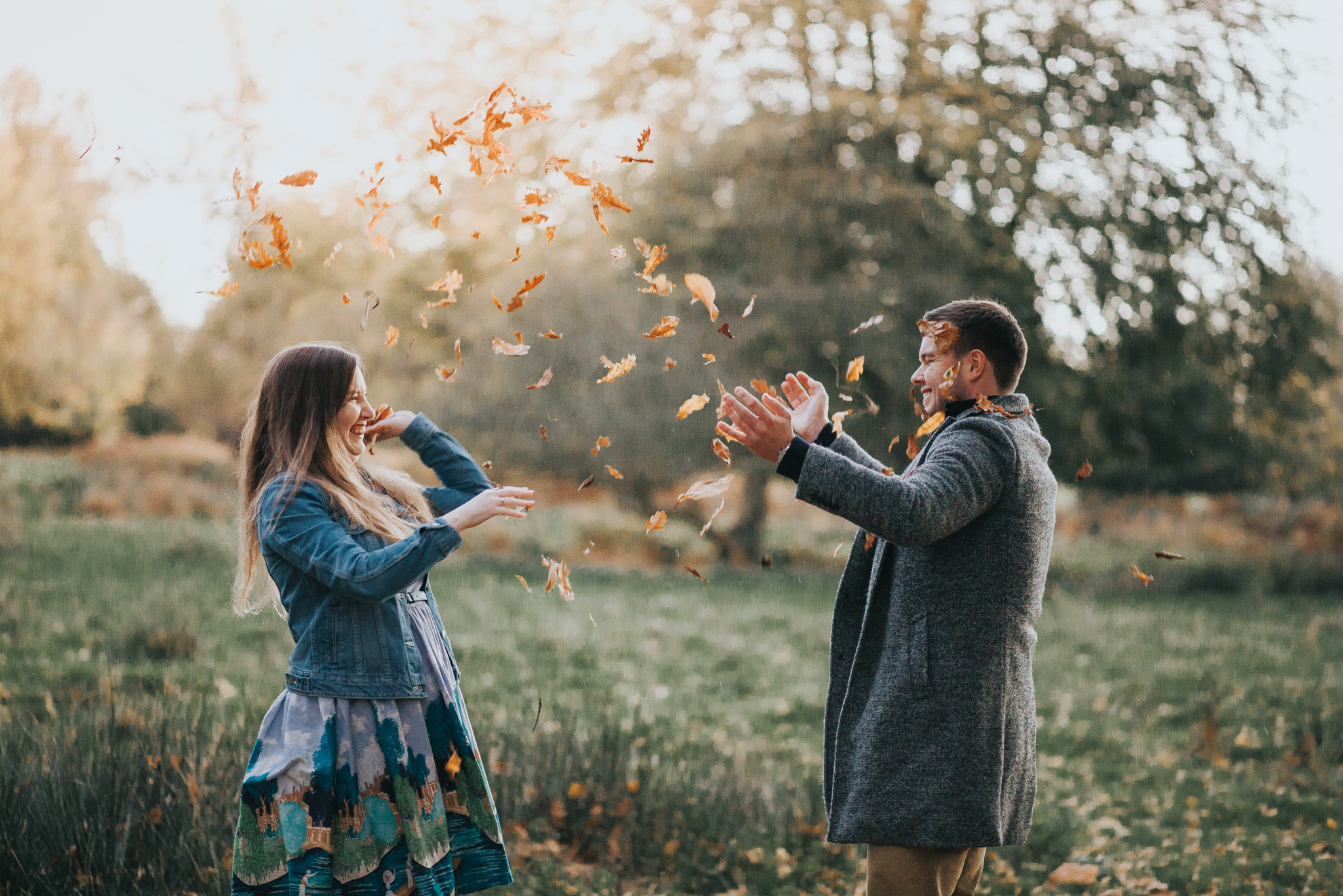 knole park engagement photography