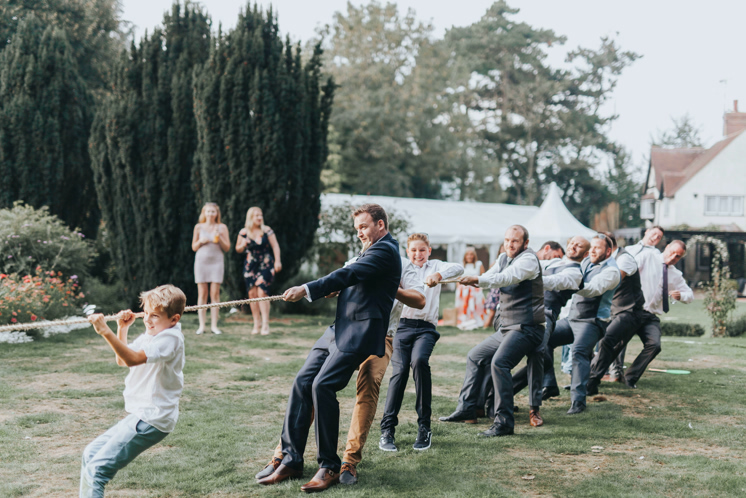 wedding tug of war game