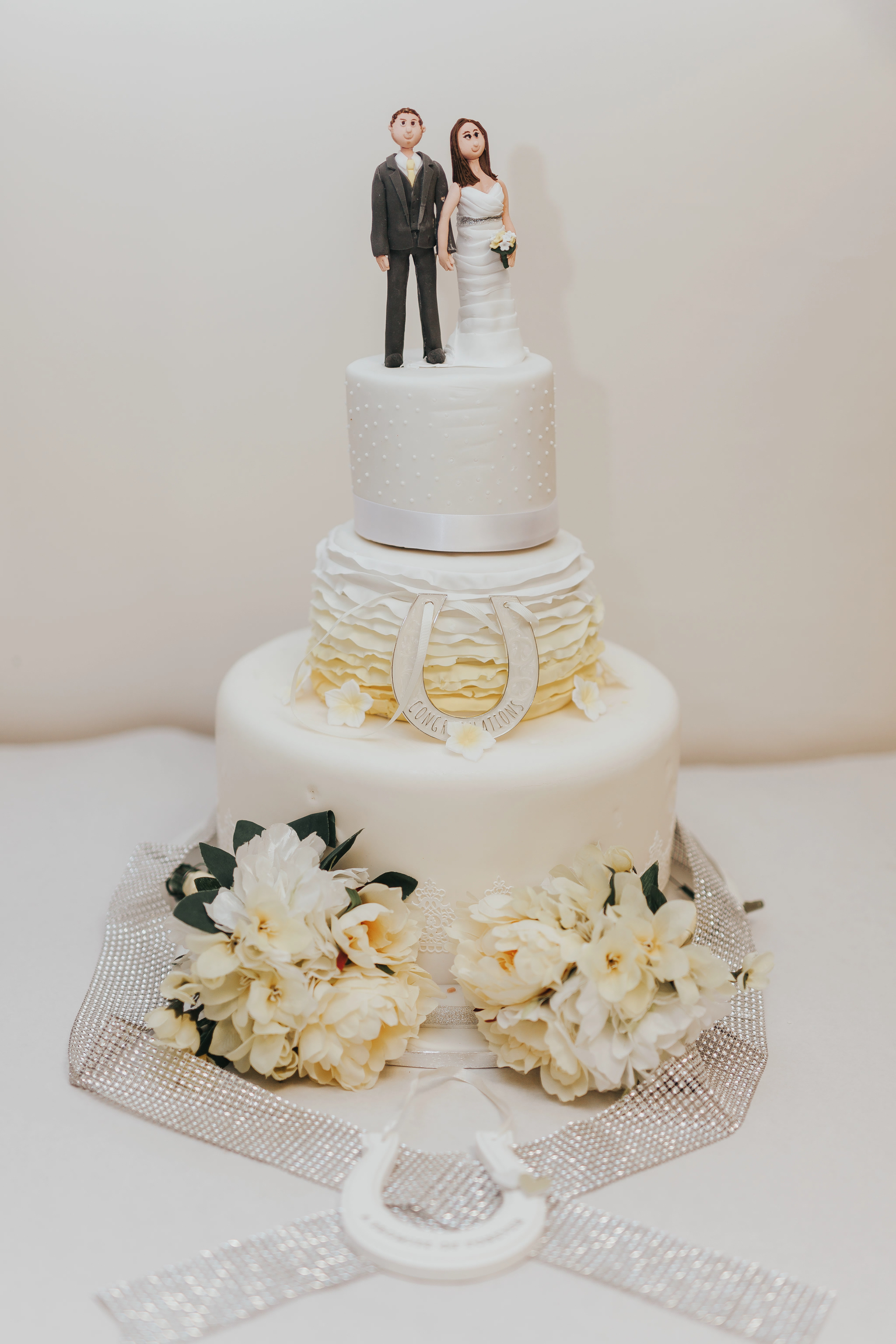 My favourite wedding cakes of 2017 as a wedding photographer...