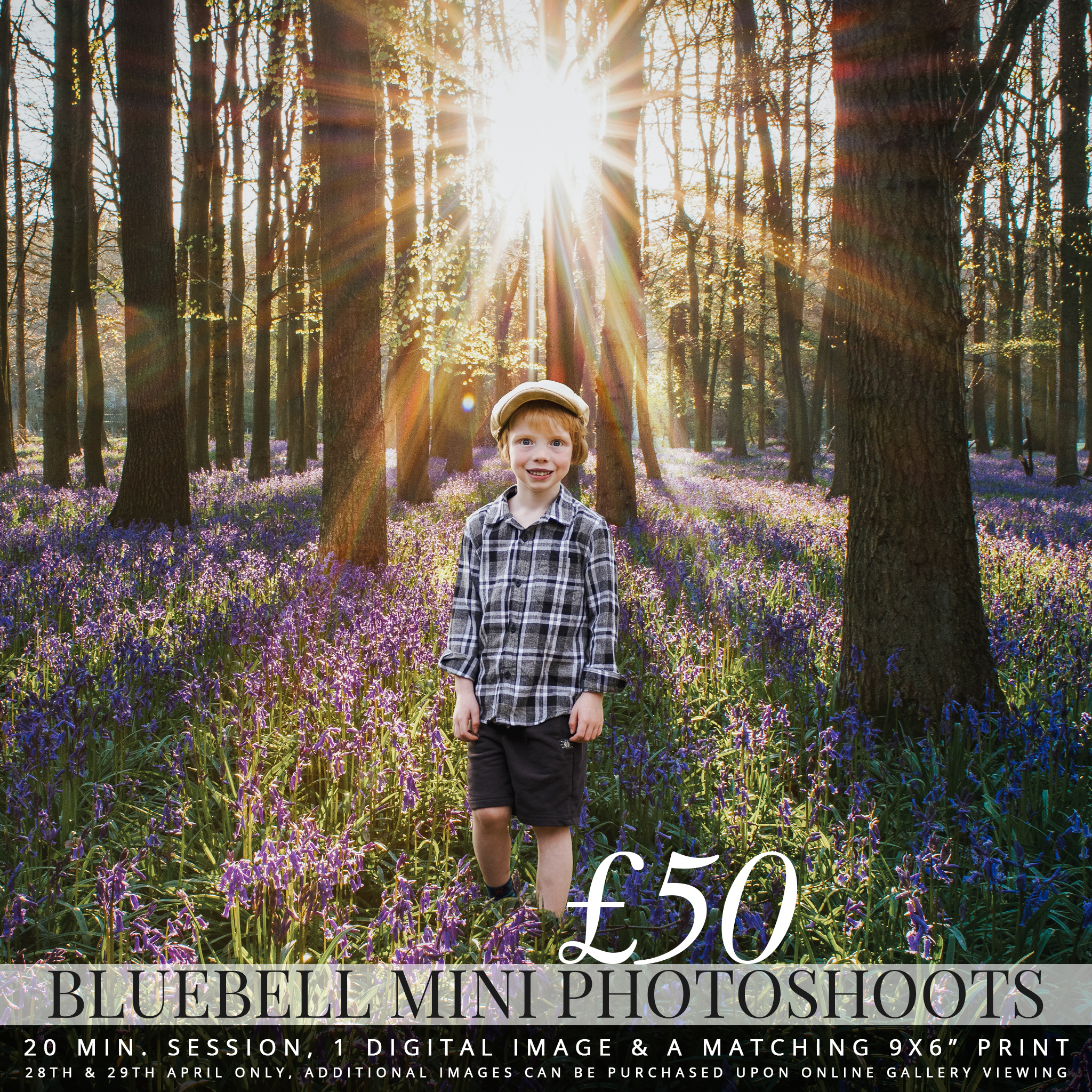 bluebell photo session mini photoshoot medway kent