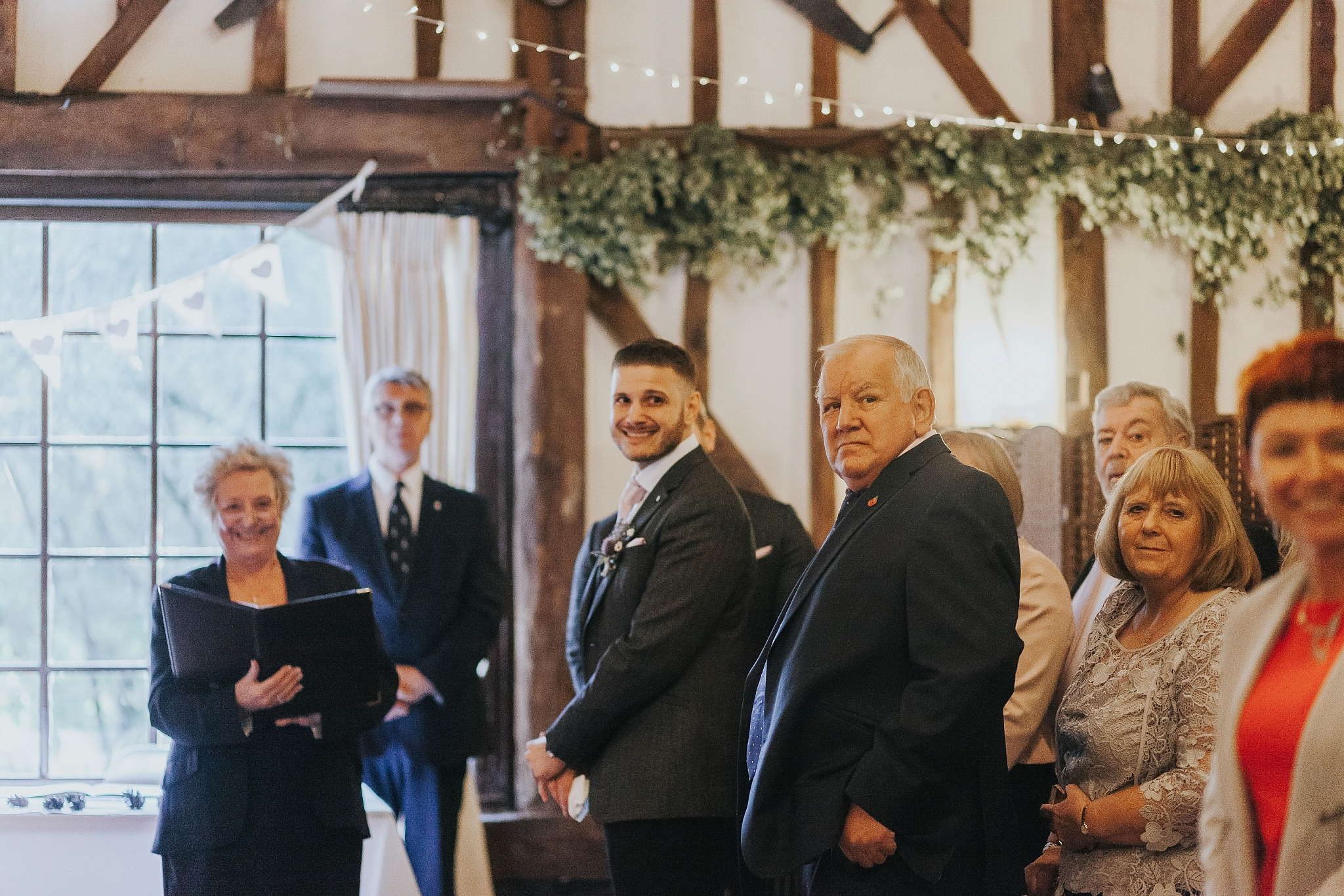 Country pub wedding kent Sam and Tom The Plough At Leigh Wedding Photography 2