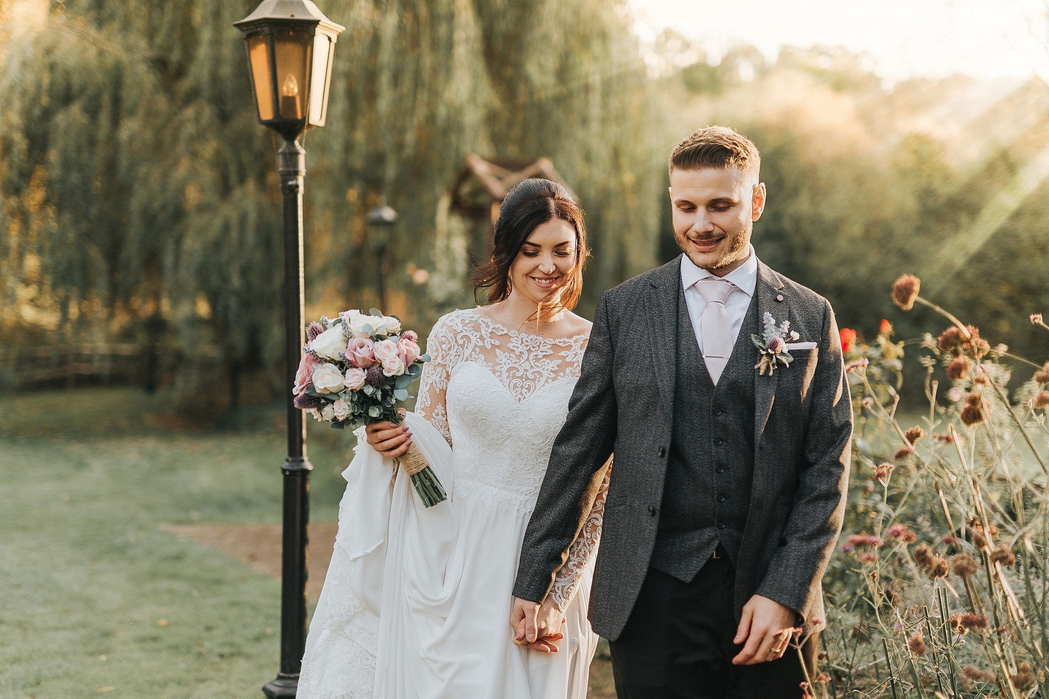 Country pub wedding kent Sam and Tom The Plough At Leigh Wedding Photography 49