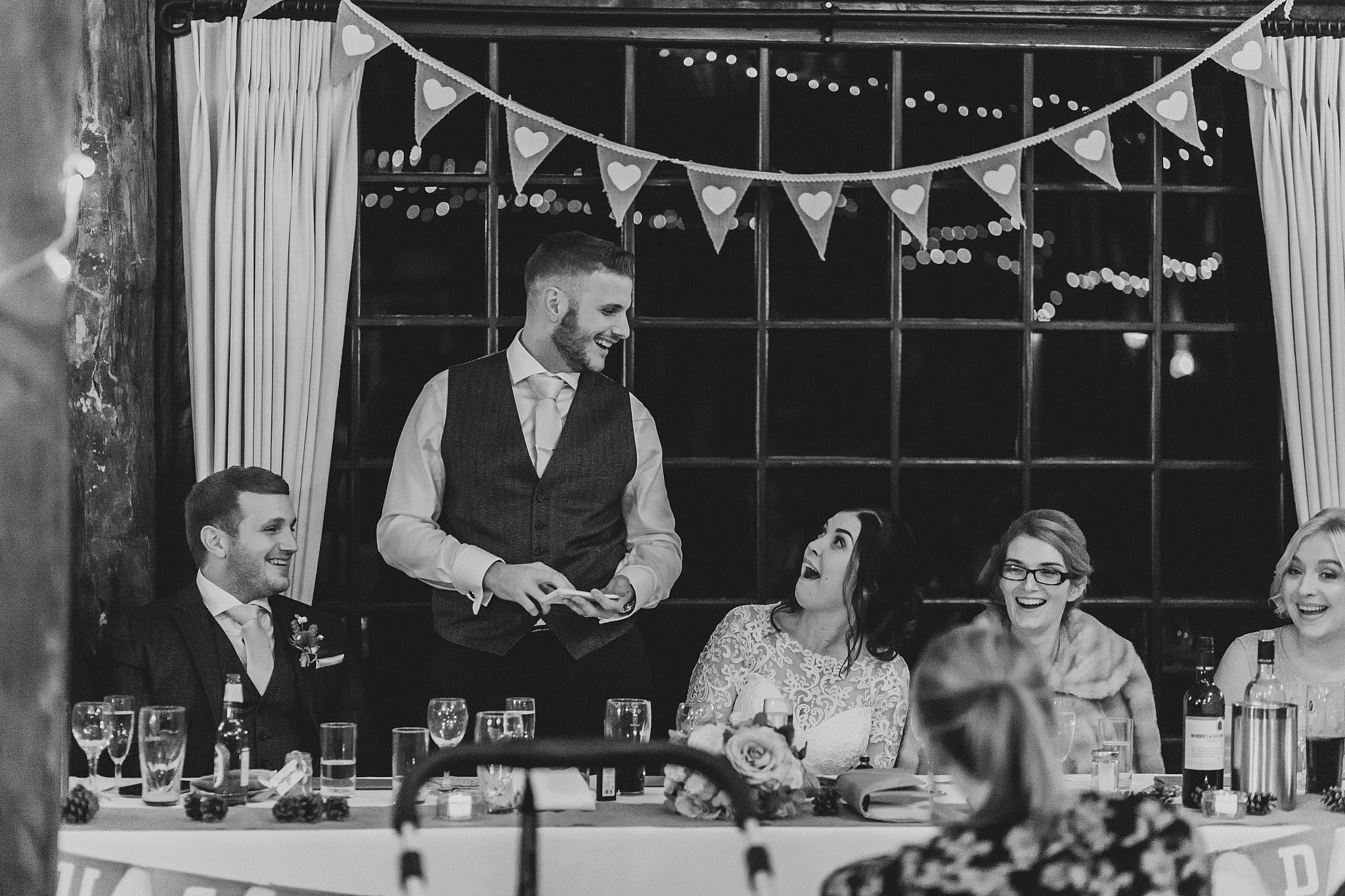 Country pub wedding kent Sam and Tom The Plough At Leigh Wedding Photography 5