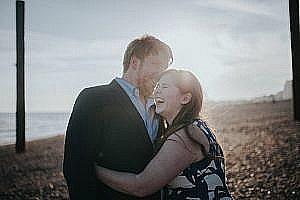 Sonia & Ben – Brighton & Beach Engagement Photography
