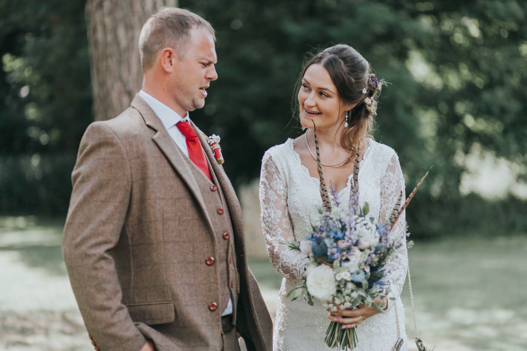 Emily and Phillip's Amazing Rustic DIY Tent Marquee Wedding in a Field in Colchester, Essex! 26