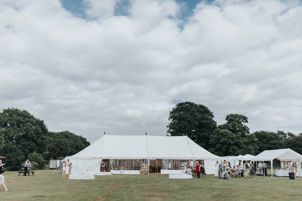 Emily and Phillip's Amazing Rustic DIY Tent Marquee Wedding in a Field in Colchester, Essex! 37