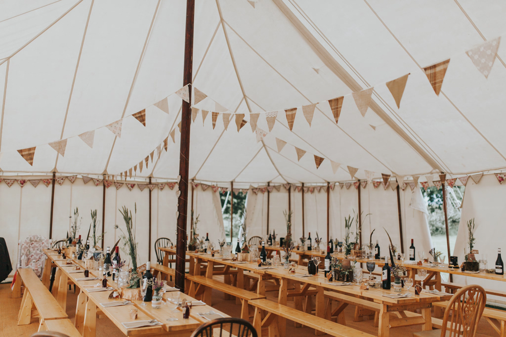 Emily and Phillip's Amazing Rustic DIY Tent Marquee Wedding in a Field in Colchester, Essex! 40