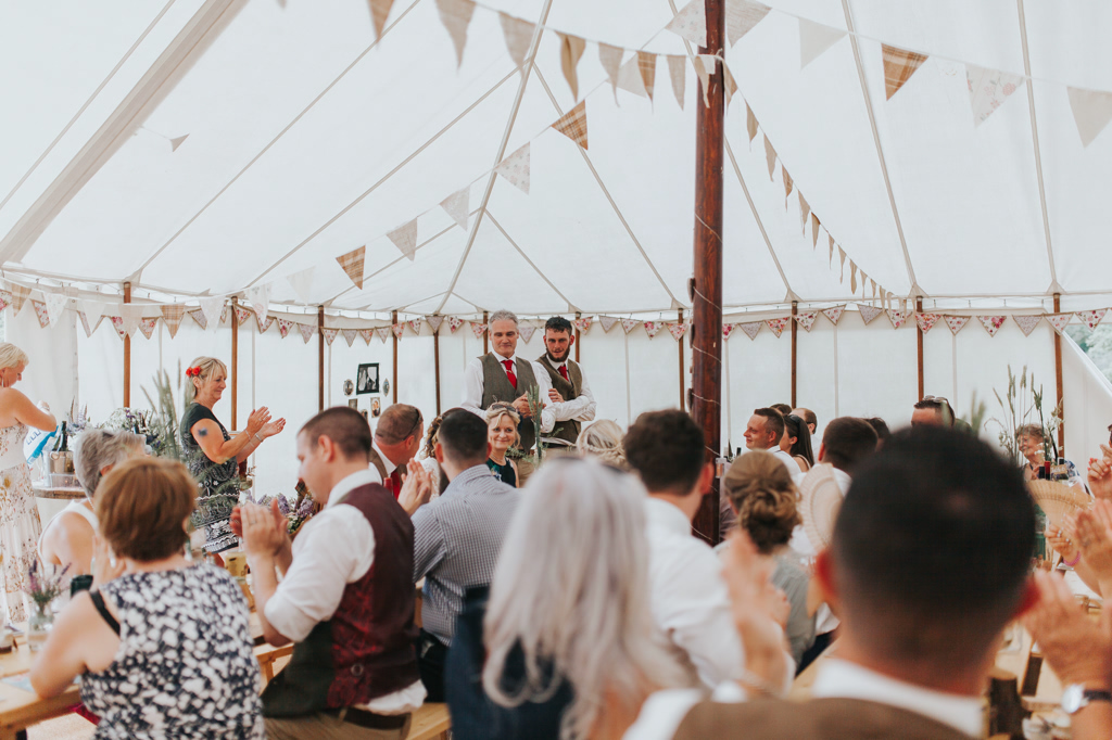 Emily and Phillip's Amazing Rustic DIY Tent Marquee Wedding in a Field in Colchester, Essex! 55