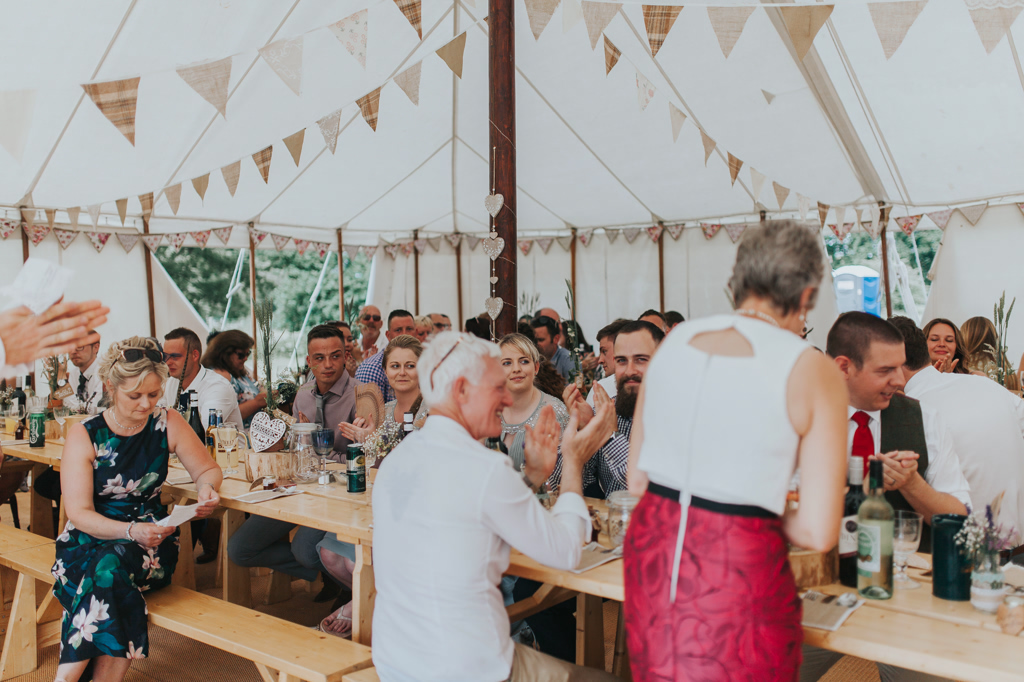Emily and Phillip's Amazing Rustic DIY Tent Marquee Wedding in a Field in Colchester, Essex! 58