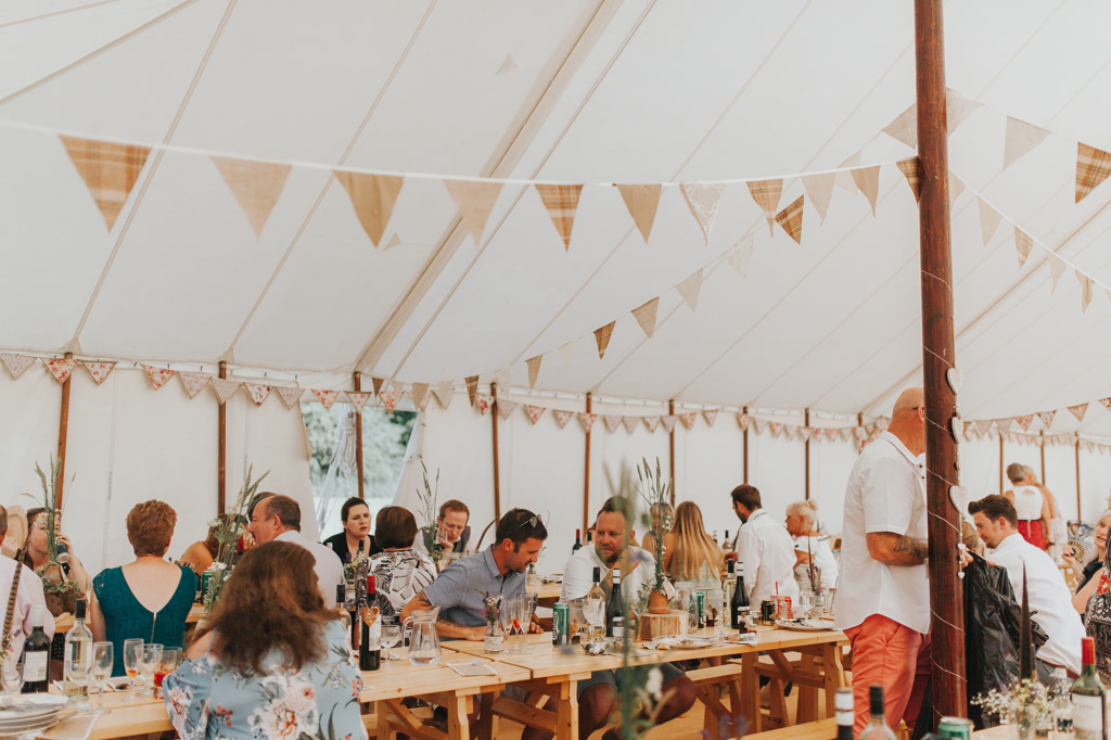 Emily and Phillip's Amazing Rustic DIY Tent Marquee Wedding in a Field in Colchester, Essex! 64