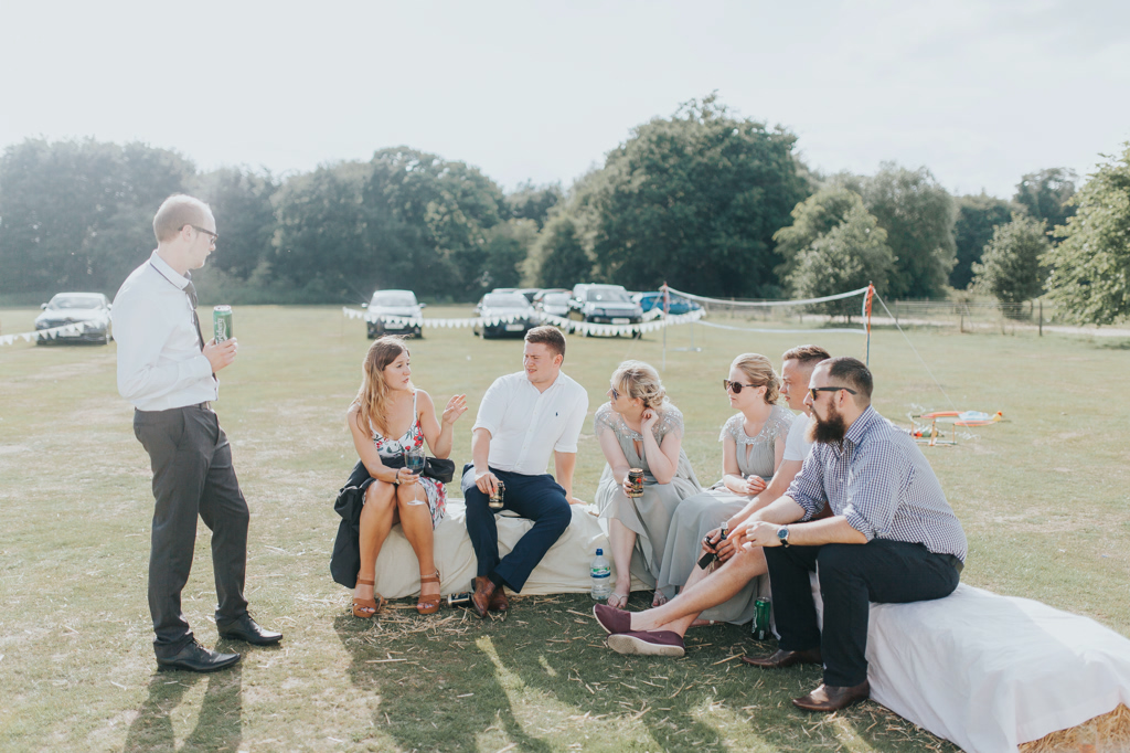 Emily and Phillip's Amazing Rustic DIY Tent Marquee Wedding in a Field in Colchester, Essex! 74