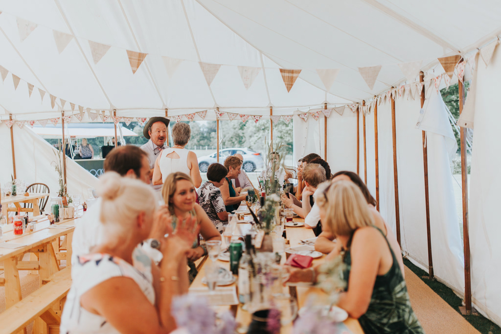 Emily and Phillip's Amazing Rustic DIY Tent Marquee Wedding in a Field in Colchester, Essex! 76