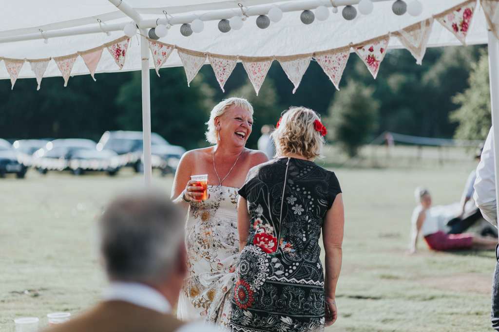 Emily and Phillip's Amazing Rustic DIY Tent Marquee Wedding in a Field in Colchester, Essex! 88