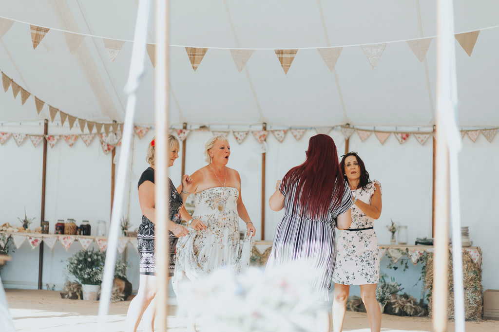 Emily and Phillip's Amazing Rustic DIY Tent Marquee Wedding in a Field in Colchester, Essex! 106