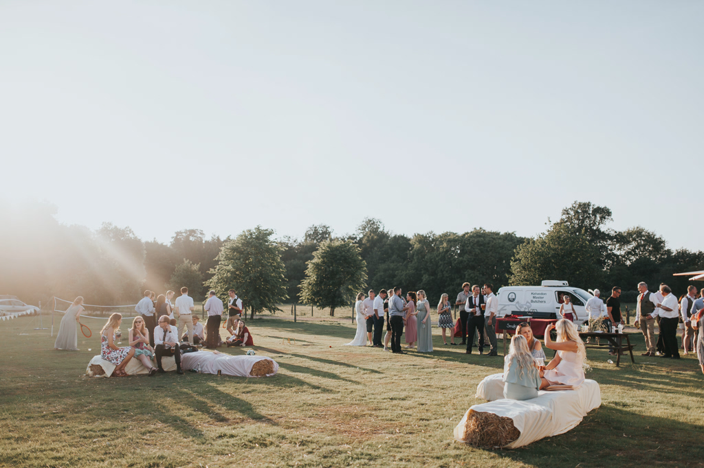 Emily and Phillip's Amazing Rustic DIY Tent Marquee Wedding in a Field in Colchester, Essex! 114