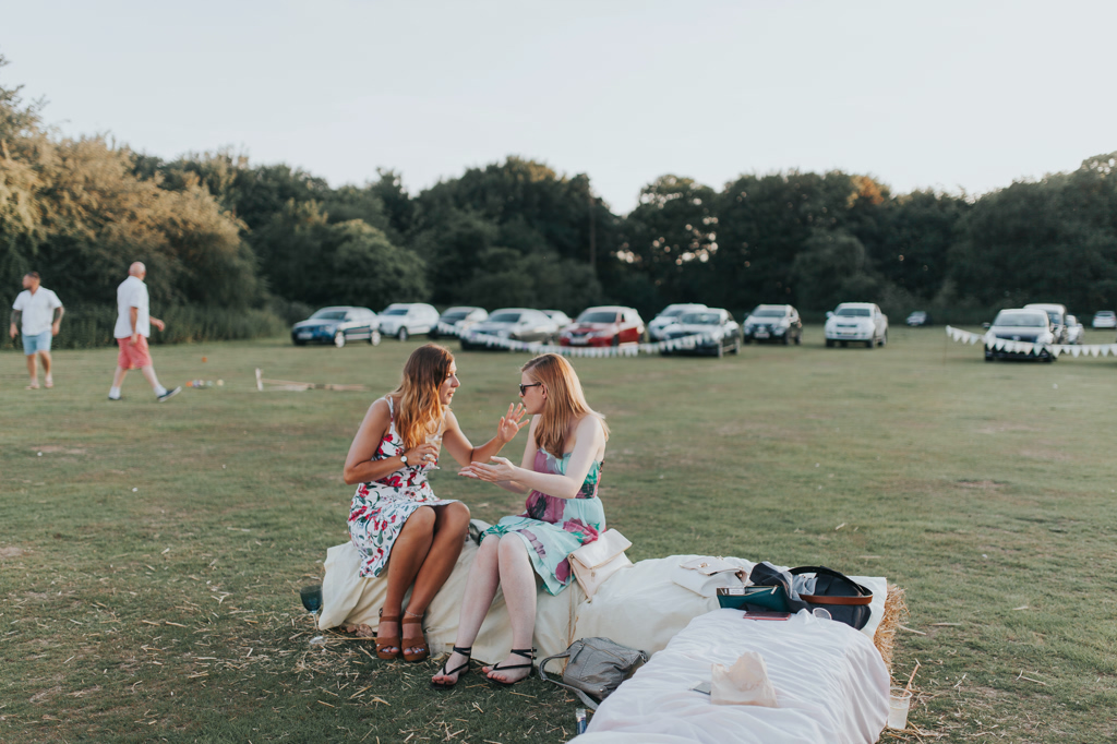 Emily and Phillip's Amazing Rustic DIY Tent Marquee Wedding in a Field in Colchester, Essex! 117