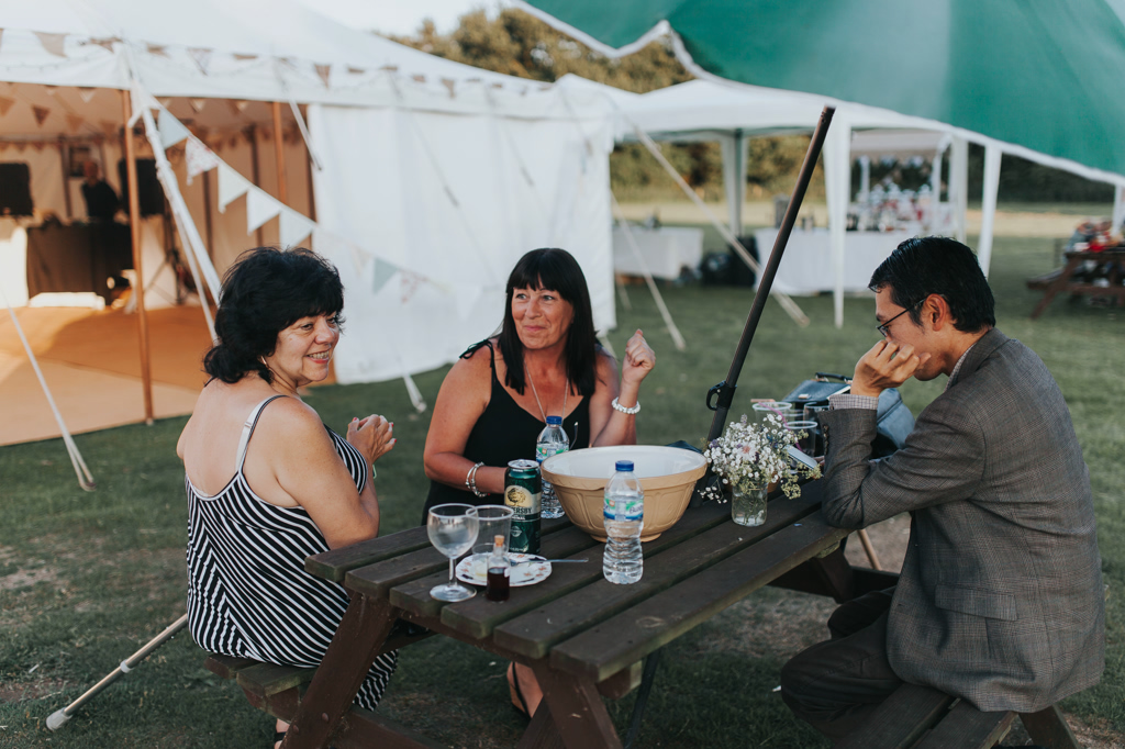 Emily and Phillip's Amazing Rustic DIY Tent Marquee Wedding in a Field in Colchester, Essex! 119