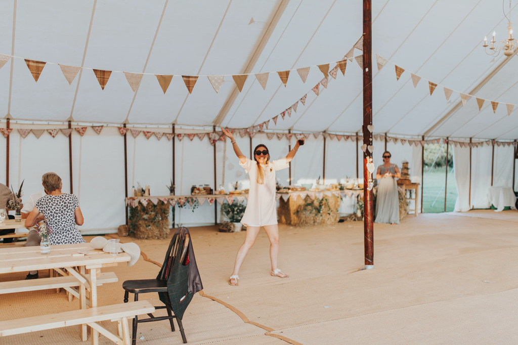 Emily and Phillip's Amazing Rustic DIY Tent Marquee Wedding in a Field in Colchester, Essex! 120