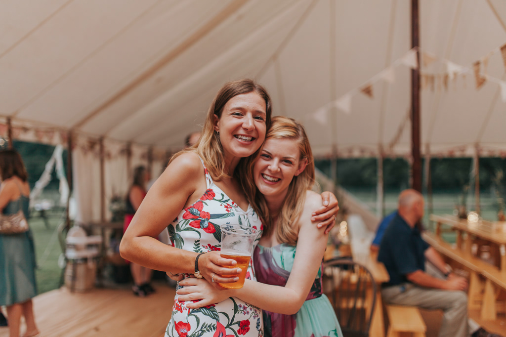 Emily and Phillip's Amazing Rustic DIY Tent Marquee Wedding in a Field in Colchester, Essex! 130