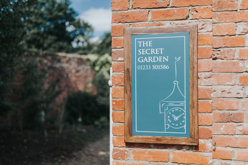 Jennie & Simon's: The Secret Garden Wedding Photography in Ashford, Kent 1