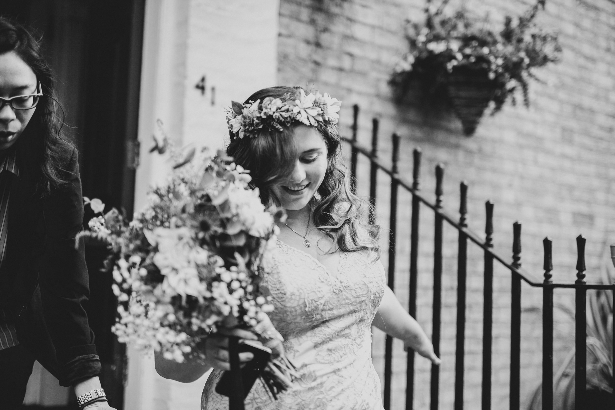 Sonia Ben Backyard Wedding Photography DIY Wedding Ideas Cambridge London9